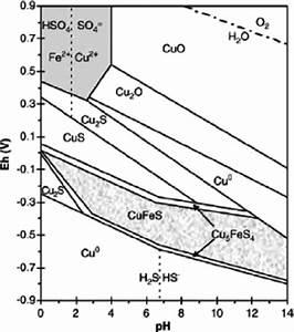 Pourbaix Diagram Of Cu U2013fe U2013s System  Taken From Co  U0301 Rdoba