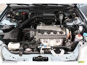 2000 Honda Civic Lx Sedan 1 6 Liter Sohc 16