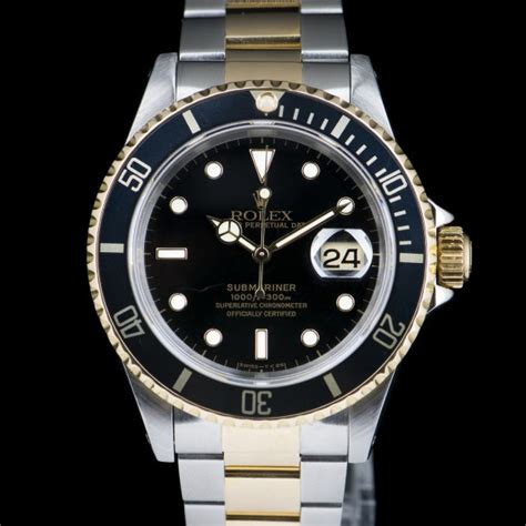 Rolex Submariner Date Ref: 16613LN Two-tone gold/steel ...