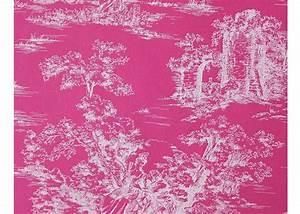 Tissu 100 Coton : tissu 100 coton motif toile de jouy ~ Teatrodelosmanantiales.com Idées de Décoration