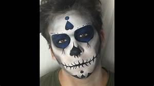 Maquillage Squelette Facile : maquillage halloween cr ne mexicain mexican skull youtube ~ Dode.kayakingforconservation.com Idées de Décoration