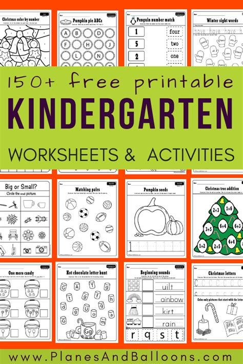 200 free printable worksheets for kindergarten instant 507 | free printable worksheets kindergarten