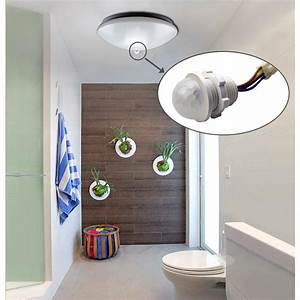 Motion Sensor Diy Automatic Switch For Led Light Outdoor