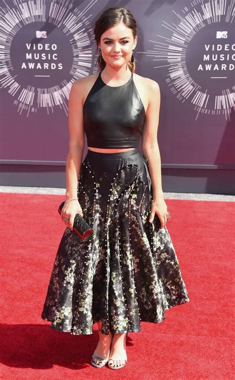 Lucy Hale Hits the Red Carpet at the 2014 MTV Video Music ...