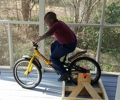 Stationary Bike Stand Instructables Steps