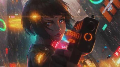 Animated Wallpaper Anime - wallpaper engine cyberpunk anime animated wallpaper