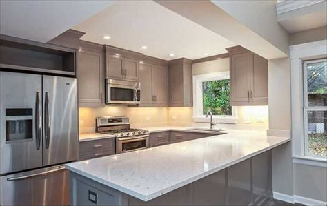 Best Color For Kitchen Cabinets 2015 by 29 U Shaped Kitchens With A Peninsula