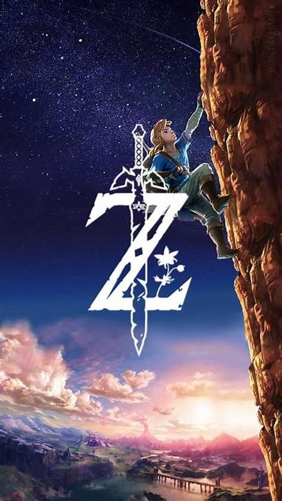 Zelda Breath Mobile Legend Wild Phone Wallpapers