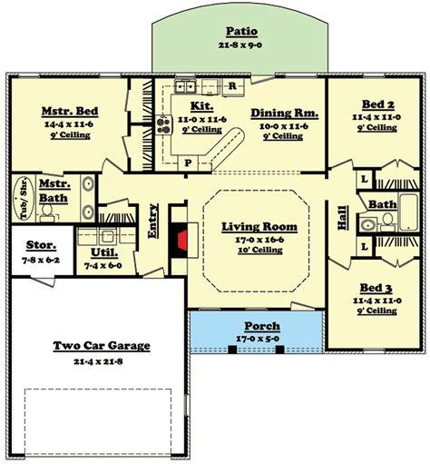 split level ranch house plans split bedroom ranch home plan 11700hz 1st floor master