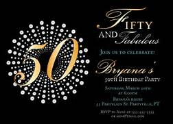 Fifty And Fabulous Birthday Invitations 50th Birthday Party 50th Birthday Party Invitation WTF Who 39 S Turning By NineEighteen Brilliant Emblem 50th Birthday Party Invitations PaperStyle Templates 50th Birthday Invitations