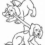 Barking Dog Drawing Bark Coloring Loud Getdrawings sketch template