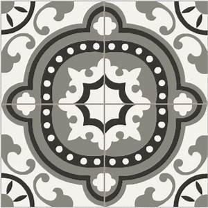 Carreaux Du Marais : carrelage ciment baroque noir blanc et gris carreaux ciment pinterest carrelage ciment ~ Melissatoandfro.com Idées de Décoration