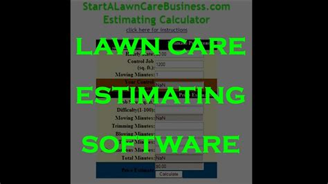 estimate quote  residential yard   lawn care