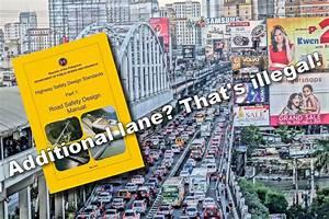 Mmda U0026 39 S Edsa Road Diet Proposal Is Against Road Standard