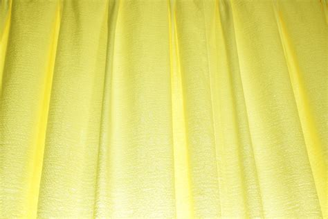 yellow curtains car interior design
