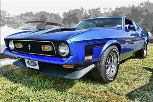 '71 Ford Mustang Mach 1 Photograph by Daniel Adams