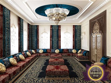 Arabic Living Room Images by Arabic Style In The Interior Of Luxury Antonovich Design