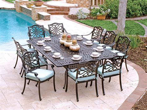 2934655 orleans dining cast aluminum patio furniture