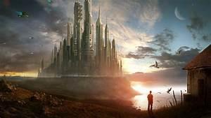 City, Futuristic, City, Future, Area, Wallpapers, Hd, Desktop