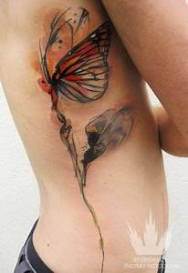 watercolor butterfly tattoo | Tattoos and piercings ...