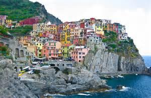 Les Cinq Terres En Italie Carte by Cinque Terre