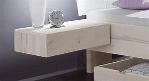 Nachttisch Zum Einhängen : schwebender schubladen nachttisch aus wildbuche nemea ~ Frokenaadalensverden.com Haus und Dekorationen
