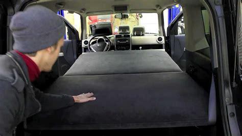 honda element custom bed  car camping youtube