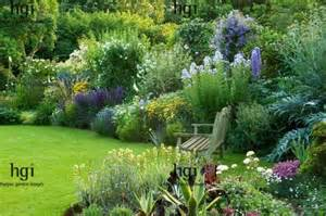 cottage garden border ideas harpur garden images 09egc13 traditional english cottage garden lawn bench seat chair focal