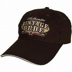 Authentic Vintage Dude Baseball Cap Funny 50th Or 60th Birthday Gag Gift Project 50
