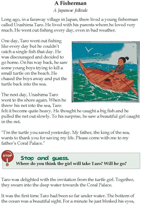 Grade 4 Reading Lesson 3 Fables And Folktales  A Fisherman  Homeschoolfables And Folktales