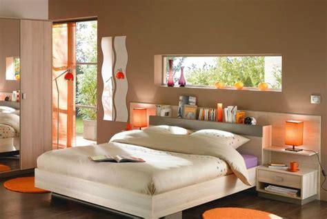 chambre orange une chambre exotique en taupe et orange