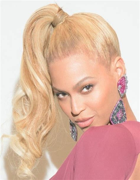 Beyonce Hairstyles   Careforhair.co.uk