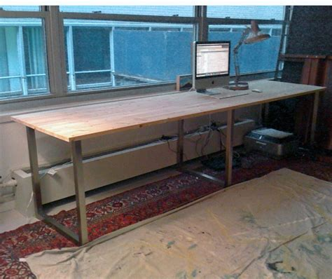 Diy Ikea Reception Desk by 25 Best Ideas About Computer Desk On