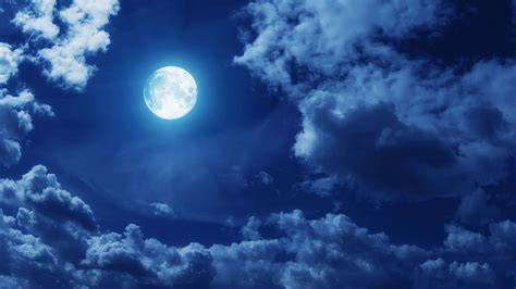 Moon And Clouds Wallpaper by Blue Moon Clouds Wallpapers Hd Desktop And Mobile