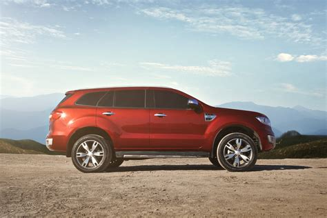 All New Ford Everest Launched In Thailand New Details