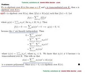 Ged Practice Worksheets Fields Galois Theory Transcendental Abstract Algebra Homework Help Algebra Notes Practice