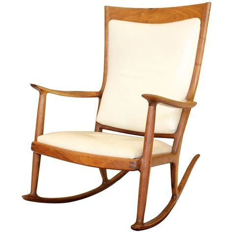 maloof rocking chair auction a beautiful sam maloof rocking chair for sale at 1stdibs