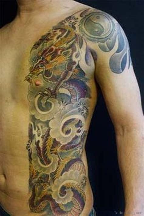 dragon tattoos  rib
