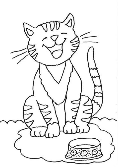 kostenlose ausmalbilder und malvorlagen katzen zum