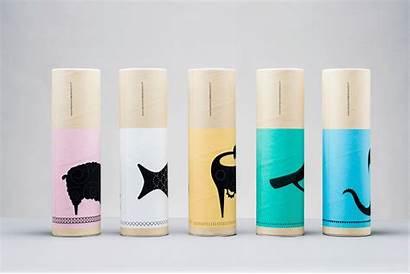 Packaging Minimalist Colourful Branding Studio Bordados Package