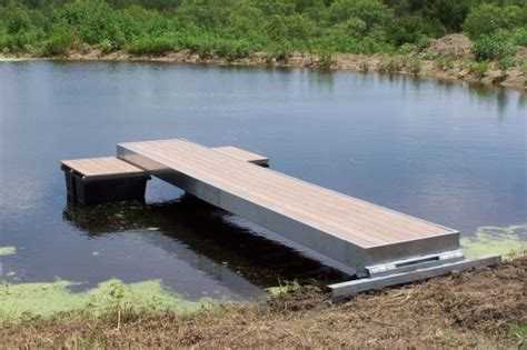 Small Boats For Sale Greenville Sc by Floating Fishing And Swimming Docks Platinum Ponds