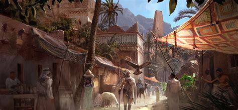 Assassins Creed Origins 4k Screenshots And Concept Art Leaked