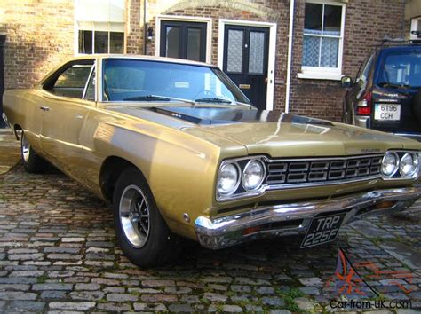 plymouth roadrunner 1968 american muscle car hot rod