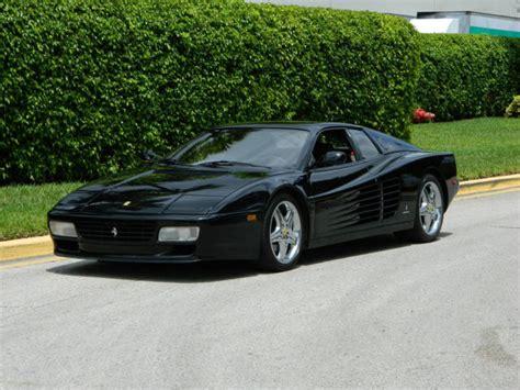 Black Testarossa by 1993 512tr 512 Tr Testarossa Nero Black