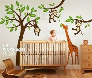 Best 25 jungle nursery themes ideas on pinterest jungle for Nice safari wall decals for nursery