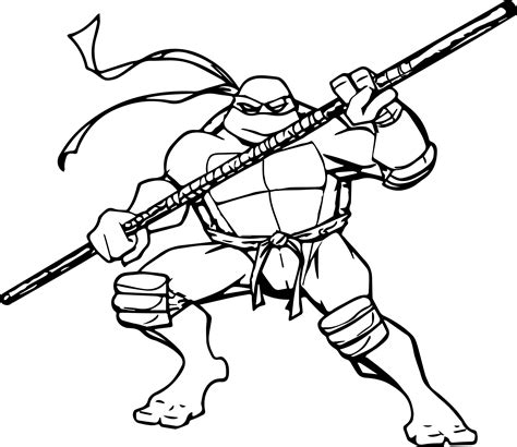 teenage mutant ninja turtles memorable  ninja coloring