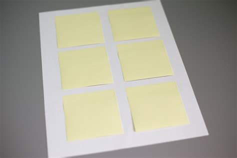 print on post it notes template how to print on sticky notes i planners