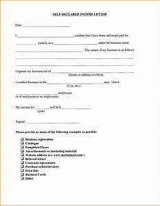 8 proof of income letter academic resume template With personal loan self employed without financial document