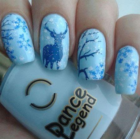 christmas snow nail art designs ideas  xmas