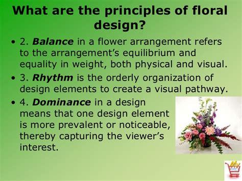 introduction  floral design